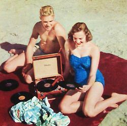 Records on the beach