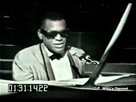 "Ray Charles - I got a woman -  (Live) (on the TV show Shindig?) c. 1954 or thereafter His first ""soul music"" hit."