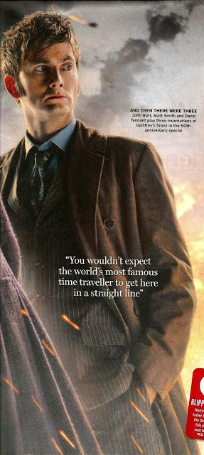 Doctor Who: The Day Of The Doctor In The Radio Times | DAVID TENNANT NEWS UPDATES