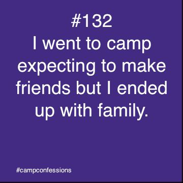 What a beautiful sentiment. These are the kinds of relationships that only Jewish overnight camp can create.
