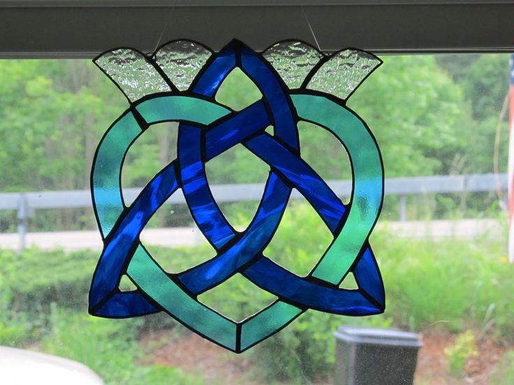 1000 Images About Stained Glass Celtic Knots On Pinterest