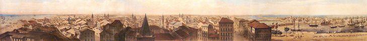 * Recife em 1855 * (by Fridrich Hagedorn).
