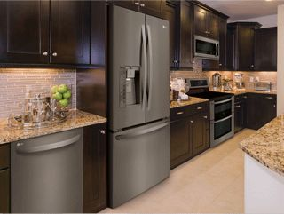 lg black stainless steel - Stainless Steel Kitchen Ideas