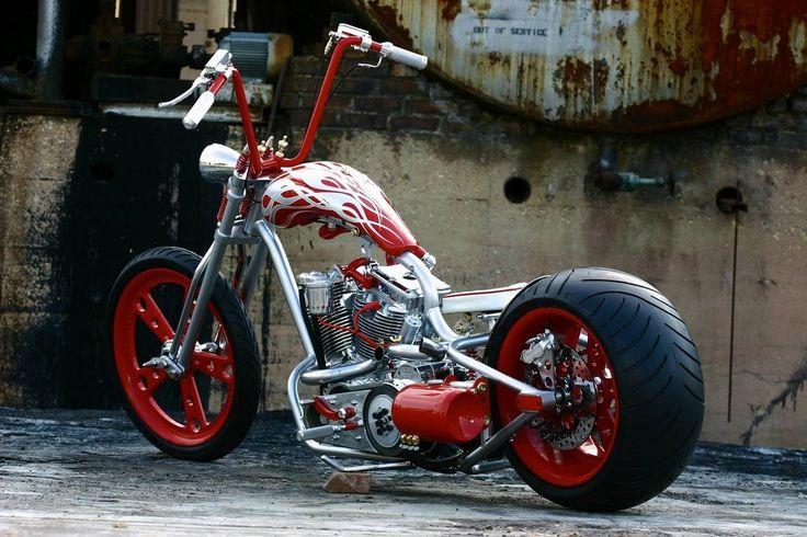 Harley Davidson Custom Ape Hanger Handlebars