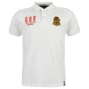 Tricoul polo barbatesc Rhino Rugby GBR este un tricou elegant, dintr-o singura culoare, cu emblema Rhino Rugby pe partea stanga a pieptului si GBR Rhino Rugby pe partea dreapta.Tricoul barbatesc tip rugby ofera confortabilitate prin anchiorul cu nasturi, manecile scurte si materialul de bumbac 100 %.