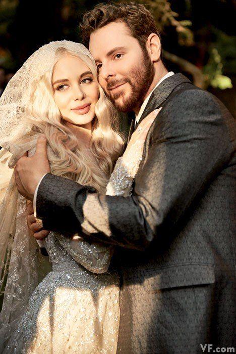 Photos: All the Details of Sean Parker's Lavish Big Sur Wedding | Vanity Fair - Elie Saab gown