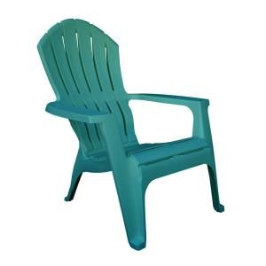 RealComfort Adirondack Mediterranean Patio Chair-8371-94-4301 at The Home Depot