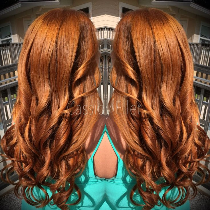 Warm copper, Paul Mitchell the color