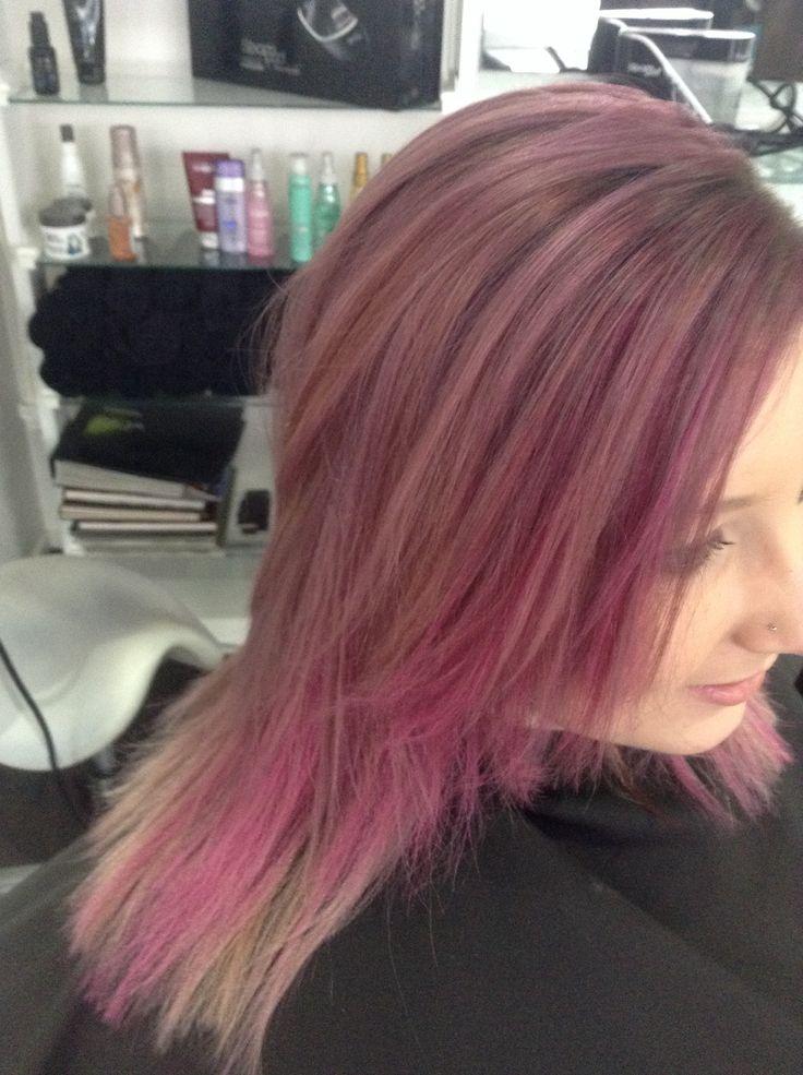 Pink Hairchalk