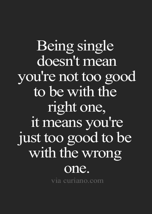 Compare being married to being single essay