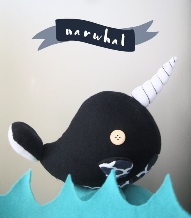 Narwhal  by Humble Pie Design