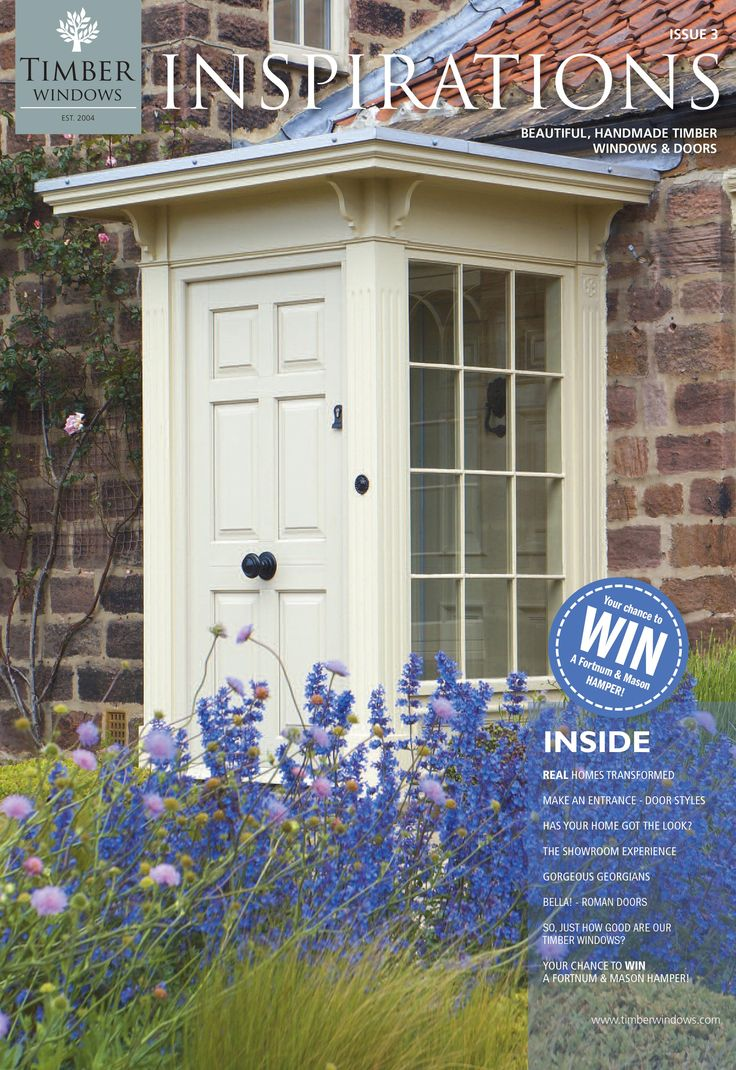 Windows and Doors inspiration. What's on the cover...