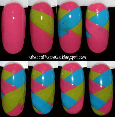 braided nail art tutorial...super easy!