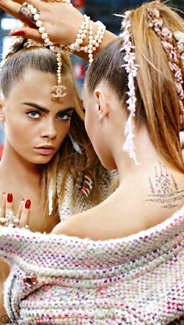 Cara Delevingne for Chanel | Inspiration for Photography Midwest | photographymidwest.com | #pmw #photographymidwest #cara
