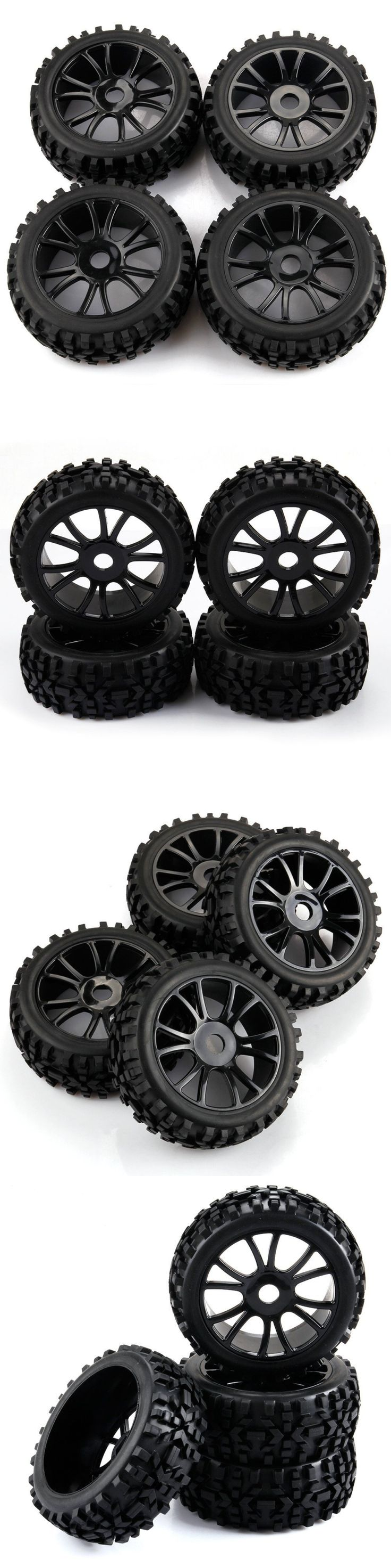 Wheels Tires Rims and Hubs 182201: New 1 8 Scale Rc Off Road Car Buggy Racing Tires Tyre And Wheels Premounted Tire -> BUY IT NOW ONLY: $35.41 on eBay!