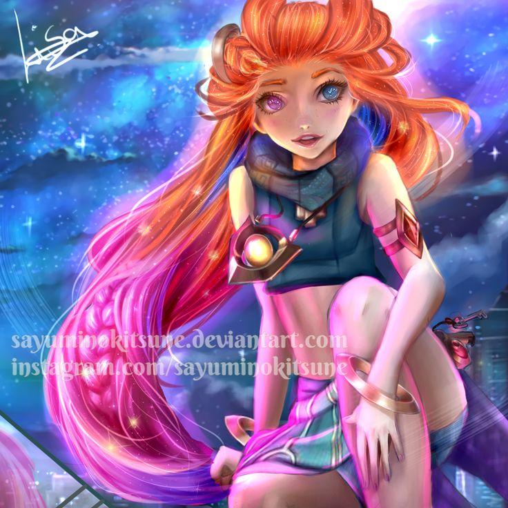 Zoe League Of Legends by sayuminokitsune | Anime, Animação