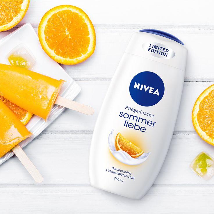 Wir lieben unsere #NIVEA Sommerliebe Pflegedusche mit Orangenblüten-Duft…