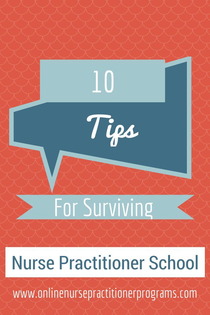tips for nurse practitioner school
