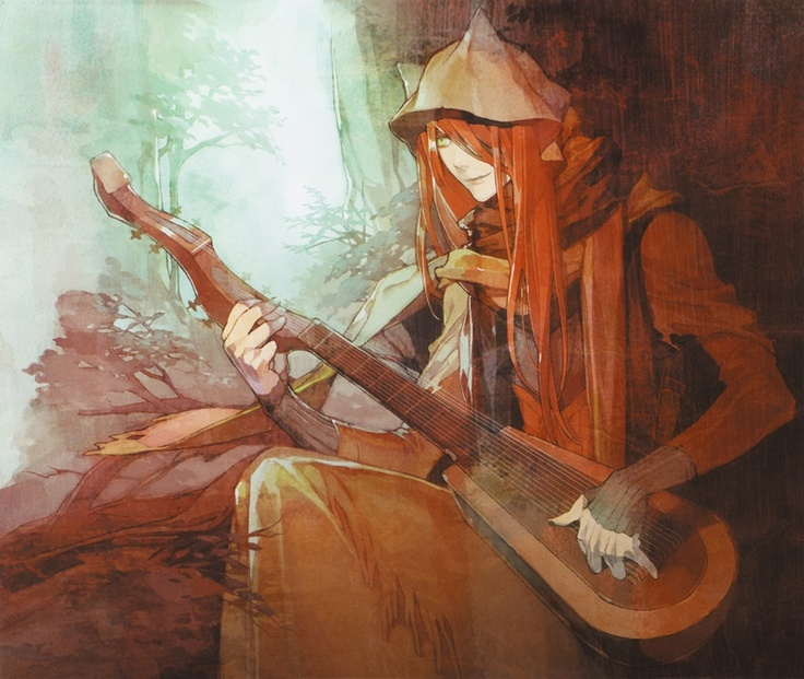 Here is a epic anime guitarist. Neat.