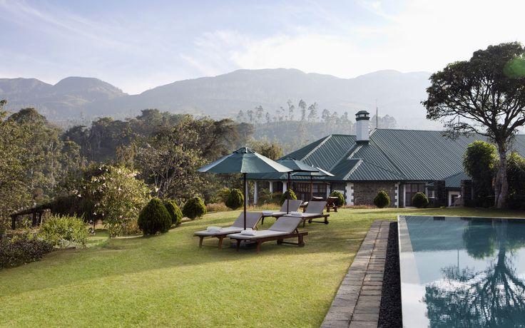 """""""Au Tea Trails, vous résiderez dans l'un des quatre authentiques bungalows de planteurs de thé, chacun d'eau ayant son charme propre"""" - Relais&Châteaux - Ceylon Tea Trails - www.resplendentceylon.com"""