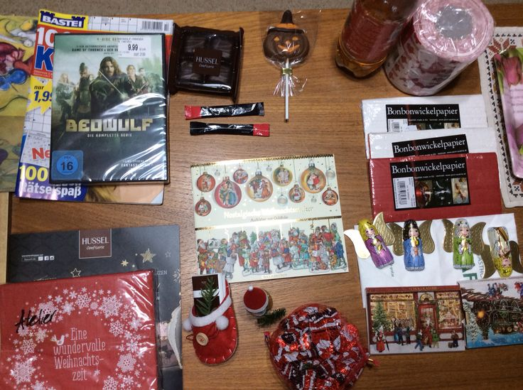 Some Christmas gifts, bought in St. Pölten, 2017