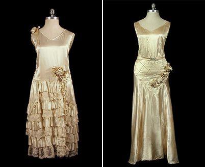 Art Deco week: Wedding dresses
