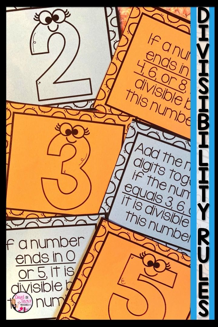 Divisibility Rules Division Worksheets 4th Grade Math Divisibility Rules Worksheet Divisibility Rules Divisibility Rules Activities