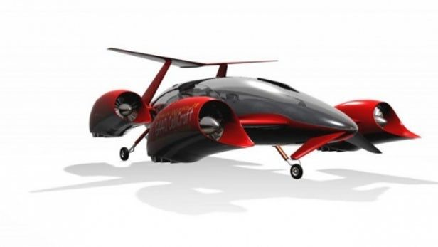 Sky-high designs for a flying automotive