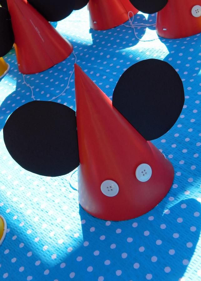 mickey mouse bday party