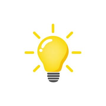 Vector Bulb Idea Bulb Clipart Thought Idea Png And Vector With Transparent Background For Free Download Light Bulb Icon Light Bulb Vector Light Bulb Illustration