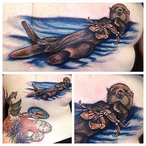 23 Best Tribal Otter Tattoo Images On Pinterest