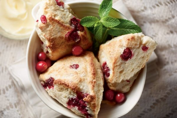 The Best Cranberry Scones