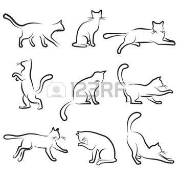 chat dessin: jeu de dessin de chat