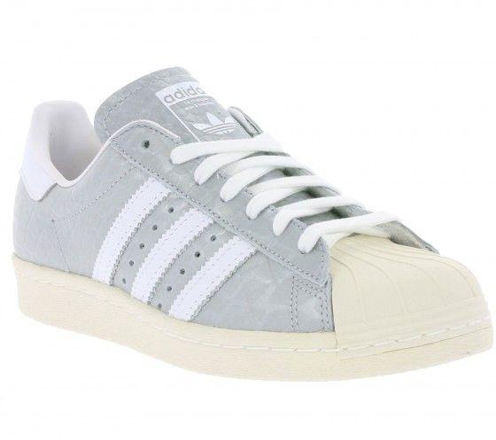 adidas Originals Superstar 80s W Damen Sneaker Grau S76415