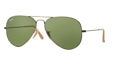 Ray Ban RB3025 Aviator Distressed 177 4E Antique Gold