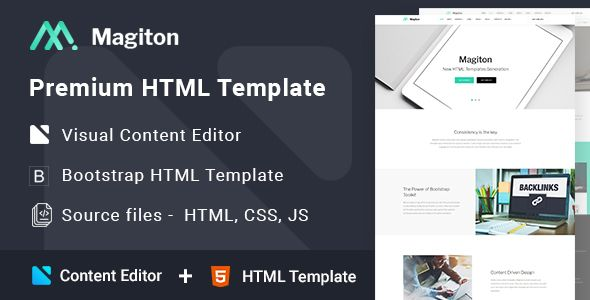 This is Multipage Website Template for a business or