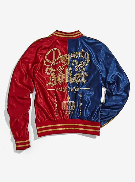 DC Comics Suicide Squad Harley Quinn Womens Bomber JacketDC Comics Suicide Squad Harley Quinn Womens Bomber Jacket, - Visit to grab an amazing super hero shirt now on sale!
