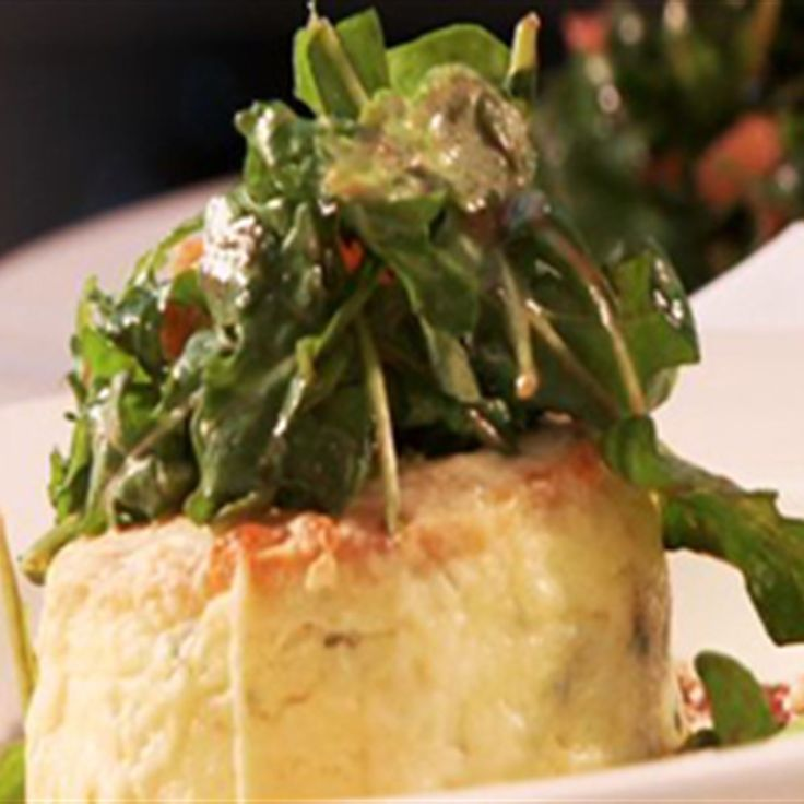 Try this Double Baked Cheese Souffle recipe by Chef Manu Feildel. The best one I have had yet, not grainy, very moorish and a loved and welcome treat. We love to have it with steak but would be wonderful as lunch with a salad