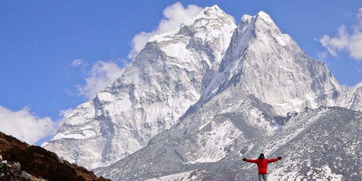 Everest Dağı'na tırmanmayı başaran ilk #vegan sporcu Kuntel Joisher