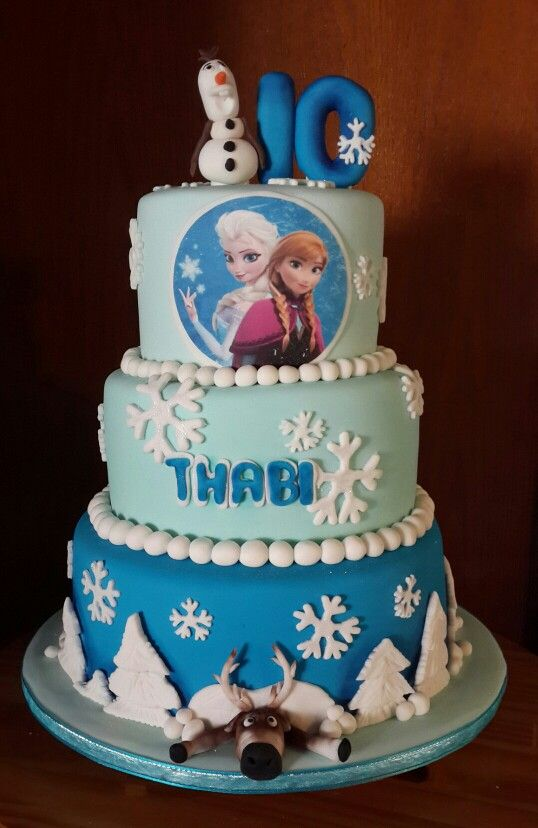 Thabi turns 10 #frozen