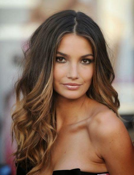 Moda Cabellos: Mechas californianas para cabello oscuro