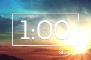 Just before the Easter sunrise service is about to begin, start the ticker with this ministry one-minute countdown timer. #Sharefaith #Easter #EasterMedia #Faith #ResurrectionSunday #ChristIsRisen #ChurchMedia #Sunrise #SunriseService #Countdown