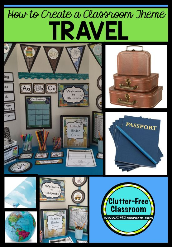 Classroom Decor Travel ~ Best ideas about thematic units on pinterest