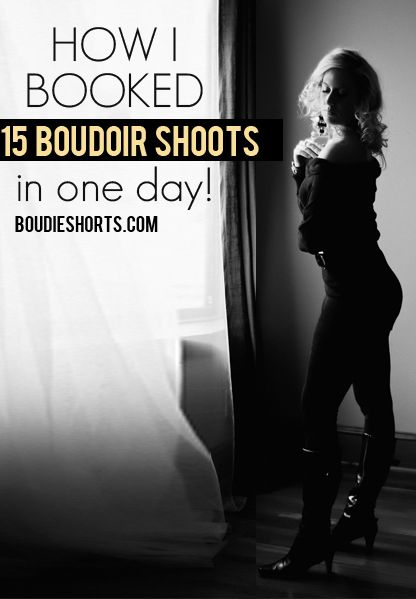 Boudie Shorts l Education for Boudoir Photographers