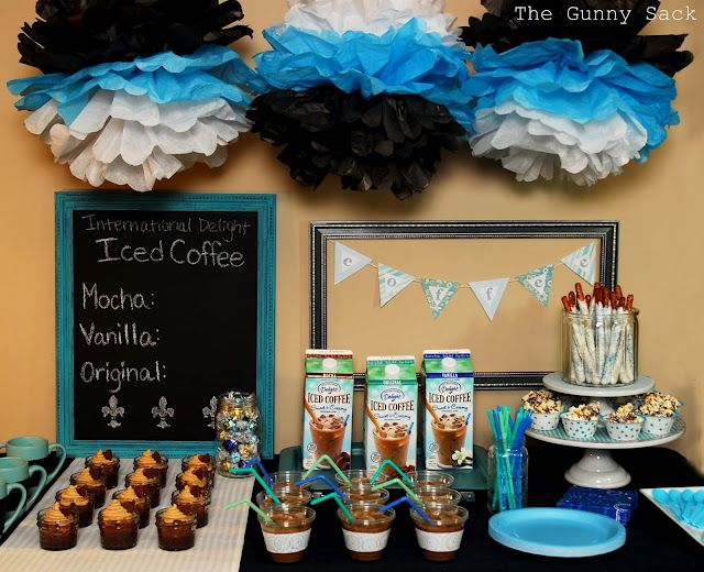 17 best images about coffee on the rocks on pinterest for International party decor