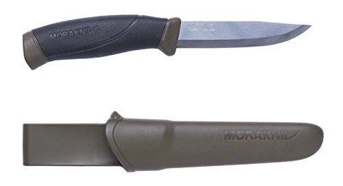 Morakniv Bushcraft Forest Fixed Blade Outdoor Knife with Sandvik Stainless Steel Blade, 4.3-Inch   https://huntinggearsuperstore.com/product/morakniv-bushcraft-forest-fixed-blade-outdoor-knife-with-sandvik-stainless-steel-blade-4-3-inch/