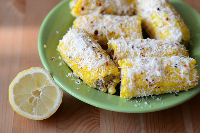 Mexican style corn.