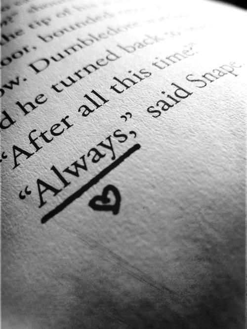 """Always"" Harry Potter and the Deathly Hollows"