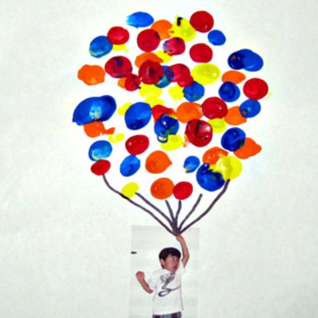 Craft Ideas Balloons: Hot Air Balloon Craft