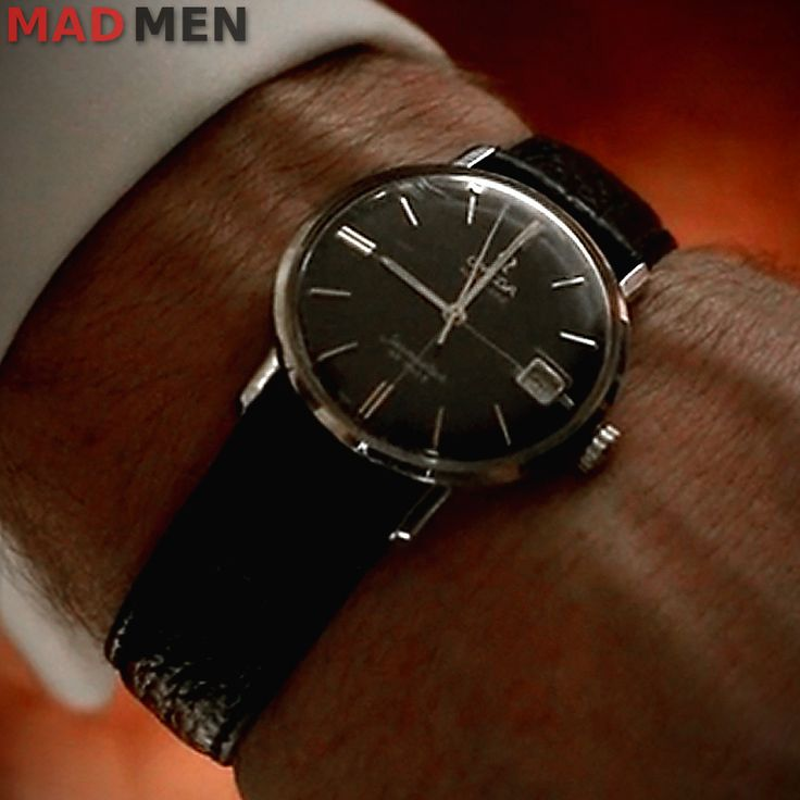 Don Draper Omega Seamaster DeVille Watch Season 7